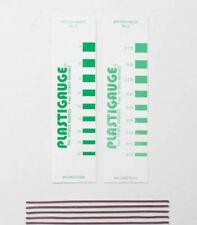 Plastigage calibre PL-C 0.175mm à 0.500mm, Vert Plastigauge