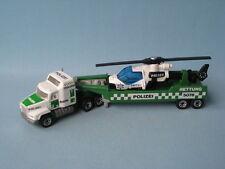 Matchbox Convoy Mack Policía Alemana Polizei Helicóptero Transportador Sin Caja
