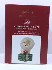Hallmark Keepsake Ornament 2020 Roaring With Love Lion Baby's First Christmas