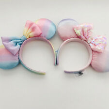 2pc Minnie Ears Kid Gift Girl Sakura Pink Disney Parks Resort Shanghai Headband