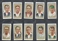 PLAYER - CRICKETERS 1934 - FULL SET OF 50 CARDS