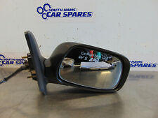Toyota Corolla Mk9 04-07 Drivers right door electric wing mirror 3Pins Blue 8P4