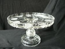 Columbian Coin Cake Stand U.S. Glass EAPG