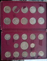 French Colony 1948-49 Complete Set of 23 Essai Coins,Rare,Togo,Reunion,Cameroom.