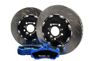 Focus MK3.5 RS EBC Brakes Racing Pad And 2-Piece Fully-Floating Disc Kit