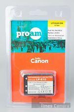 ProAm PA-LPE10 LP-E10 Lithium-Ion Battery for Canon 1100D 1200D 1300D Cameras
