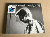 DAVID BOWIE Tokyo 78 CD packed into a 4 panel digipack UV gloss + 4 page booklet