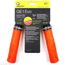 Ergon GE1 Evo Large Lock-On Handlebar Bike Grips MTB Enduro Bike - Frozen Orange