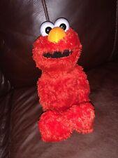 "Elmo Hug Me Plush Teddy Sesame Steet by Hasbro 2008 Soft Toy 13"""