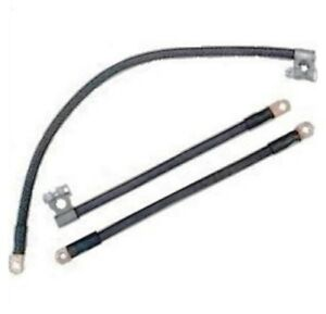 OE-Style Cloth Jacket Battery Cables for 1946-1954 Plymouth