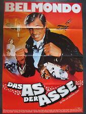 DAS AS DER ASSE - Filmplakat A1 - Jean-Paul Belmondo - Gerard Oury