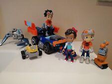 Rusty Rivets set di personaggi, accessori e veicolo
