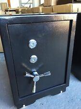 Large Black Steel Safe 2 Key Home Office Heavy Duty 74kg
