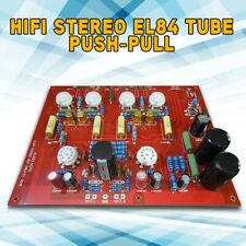 HiFi Stereo EL84 Tube Push-Pull Power Amplifier Audio Amp PCB Board DIY Kit