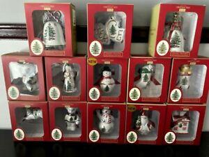 Spode Christmas Tree Ornaments-Free Shipping