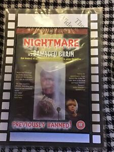 Nightmare In A Damaged Brain ( DVD - Brand New & Sealed )