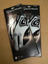NEW Taylormade Targa Tour Cabretta Leather Golf Gloves MENS RH Small SET OF 2