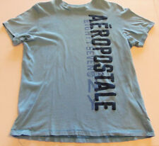 BOYS  1987 AEROPOSTALE  LIGHT BLUE SHIRT SIZE MED.