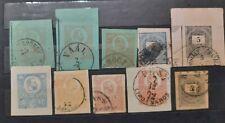 HUNGRÍA - Lote de sellos antiguos pre-pago .