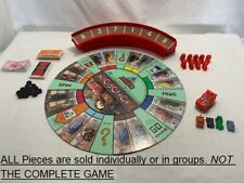 U-PICK DISNEY PIXAR CARS 2 MONOPOLY LIGHTING MCQUEEN RACETRACK GAME