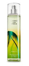 NEW Coconut Lime Breeze Fine Mist & Shower Gel Bath & Body Works Set of 2