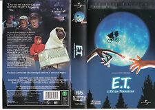 E.T. L'EXTRATERRESTRE (1982) VHS EDIZIONE SPECIALE
