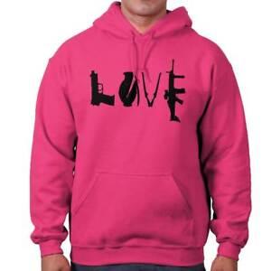 Gun Love Rifle Pro 2A 2nd Amendment Rights Womens Hooded Sweatshirts Hoodies