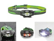 Cree LED Head Torch - Super-Compact - Camping, Hiking, etc + FREE Sports Glasses