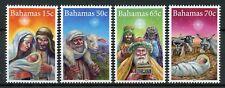 Bahamas 2015 Christmas 4v Set Nativity Mary Joseph Baby Jesus Wise Men