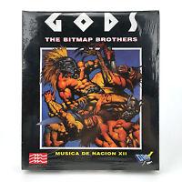 GODS Sealed DRO SOFT SPAIN 1991 THE BITMAP BROTHERS / MINDSCAPE 3½ DISK ATARI ST
