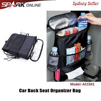Car Seat Back Ice Pack Organizer Bag Pocket Storage Tissue Mesh Heat Cooler SP