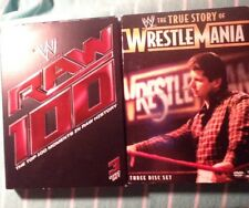 WWE-Raw 100 The 100 Moments In Raw History (DVD)-The True Story Of Wrestlemania