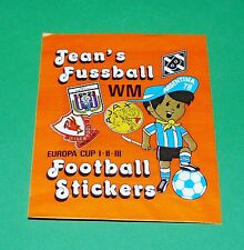 PANINI FOOTBALL 1978 JEAN'S FOOTBALL STICKERS POCHETTE NEUVE BUSTINA TÜTE PACKET