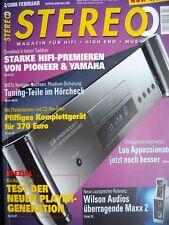 STEREO 2/08 MARANTZ ST 8,PIONEER D/A 9,F 6,PIEGA TC 50,JAMO C 809,NUFORCE IA 7 V