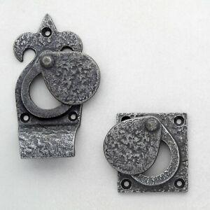 Cylinder Latch Lock Cover Pewter Escutcheon Key Hole Cover