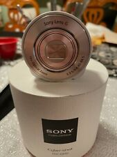 Sony Cyber-shot DSC-QX10 18.2MP Digital Camera - White
