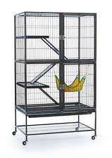Pet House Products Hammock Feisty Ferret Run Jump Ramp Play Home w/ Stand Cage