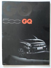 FIAT 500 GQ orig 2013 UK Mkt Sales Brochure