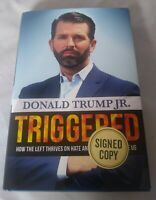 Triggered Signed by Donald Trump Jr. Autographed Hardback 1st Edition