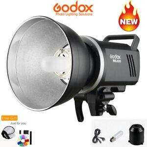 Godox MS300 300WS Studio Strobe Head Flash Light Lamp Monolight 110V NEW For US