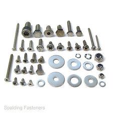 VOLKSWAGEN BEETLE Inox Elementi Di Fissaggio Kit - 400 dadi, bulloni, viti e rondelle