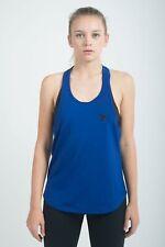 Veren Damen Tank Top Fitness Dri-Fit Technologie Laufen Kleidung Blau Neu