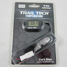 Trail Tech TTO Temperature Meter Digital Gauge 14mm Spark Plug Sensor 742-ET3
