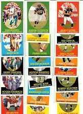 2007 Topps Turn Back the Clock Football Complete Set #1-22 New Condition