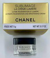 Chanel Sublimage LA CREME LUMIERE 5 ml 0.17 fl oz MINIATURE VIP GIFT new 2020
