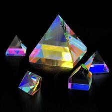 Pyramid Prism Color Diamond Pentahedron X-Cube Prism f/ Photography Decoration