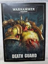 Warhammer40k Chaos SpaceMarines Death Guard Codex from the Dark imperium box set