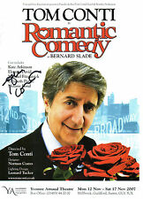 TOM CONTI HANDSIGNED 8 X 6 COLOUR THEATRE HANDBILL