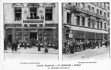 CPA 54 NANCY GRANDE BRASSERIE LA LORRAINE H.LECUYER PROPRIETAIRE (COMMERCE MAGAS