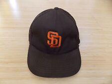 San Diego Padres Snapback Baseball Cap Hat - Brown